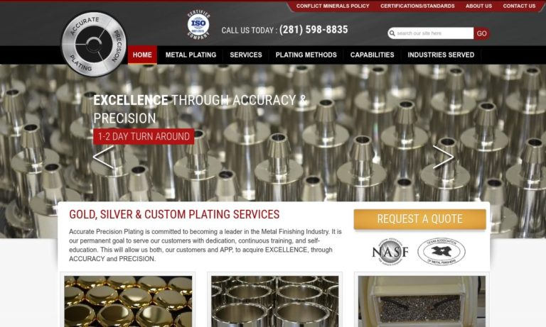 Accurate Precision Plating, LLC