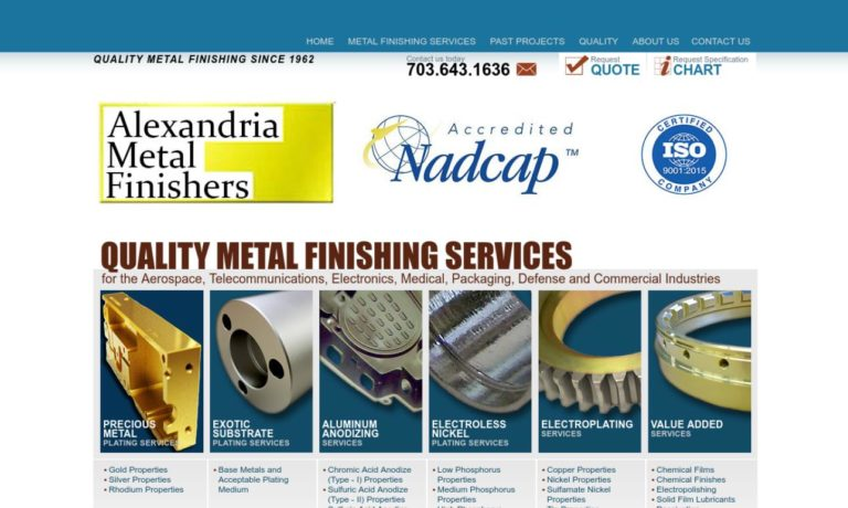 Alexandria Metal Finishers