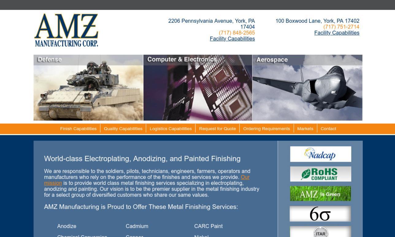 AMZ Manufacturing Corp.