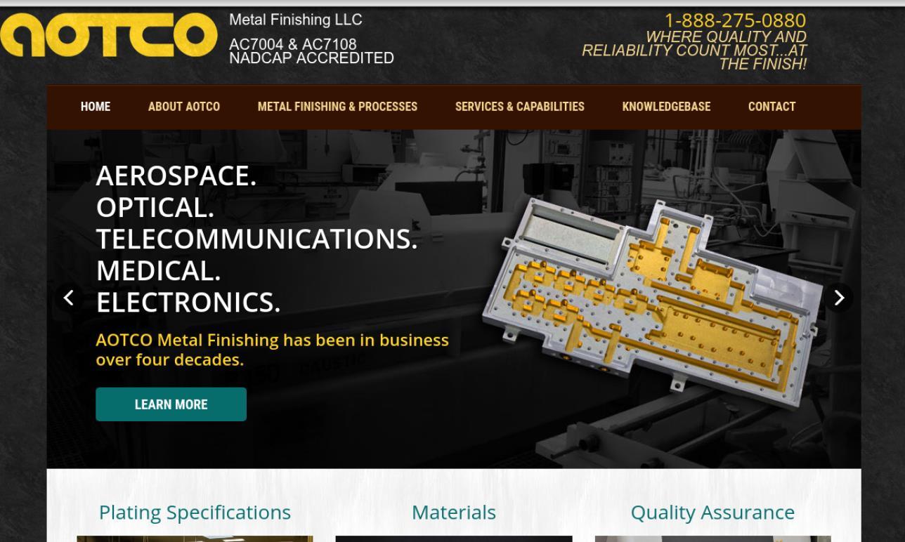 AOTCO Metal Finishing, Inc.