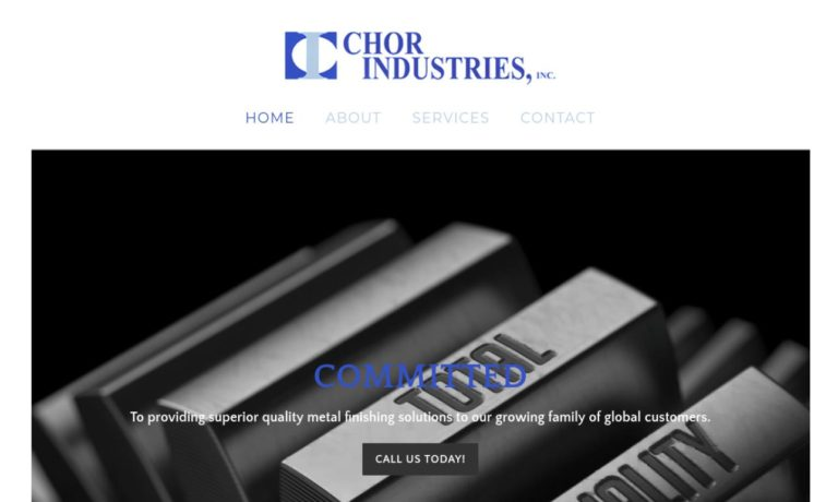 Chor Industries, Inc.