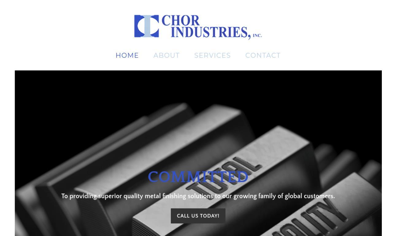 Chor Industries, Inc.