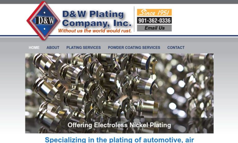 D & W Plating Company, Inc