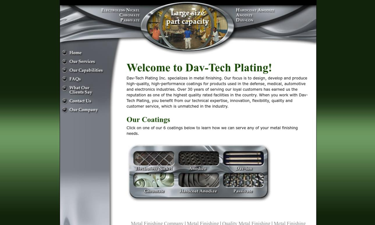 Dav-Tech Plating, Inc.