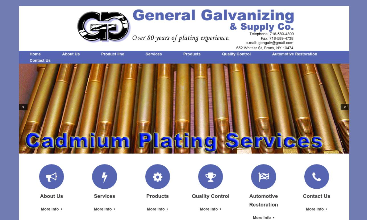 General Galvanizing & Supply Co., Inc.