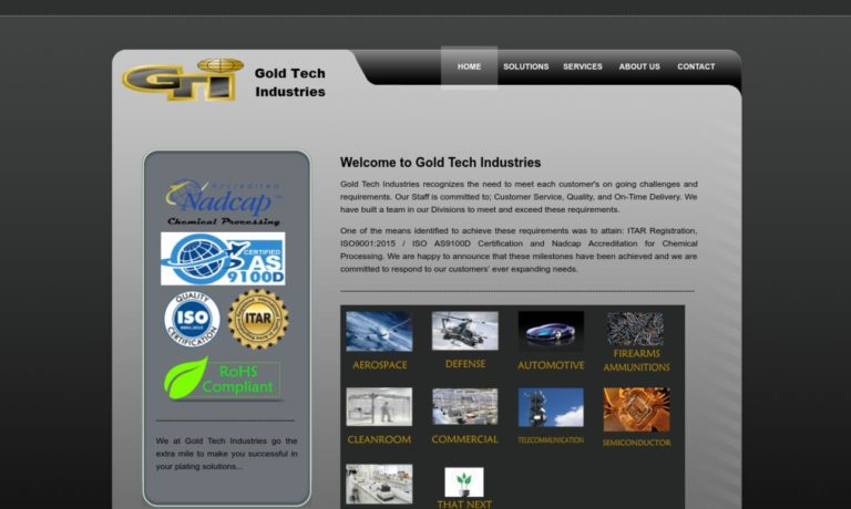 Gold Tech Industries