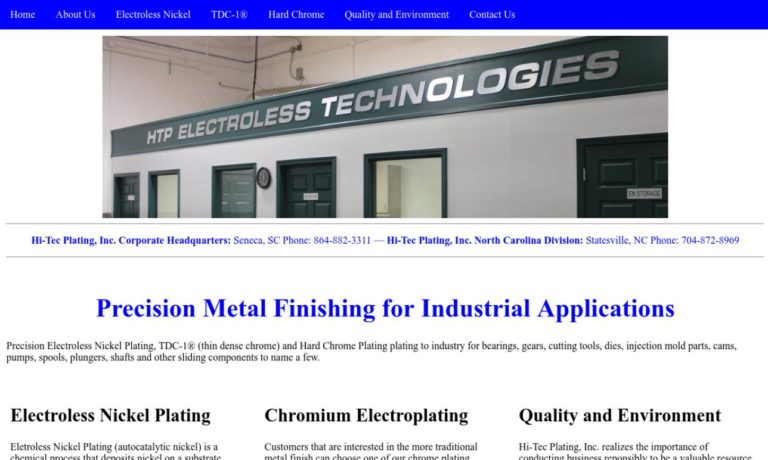 Hi-Tec Plating, Inc.
