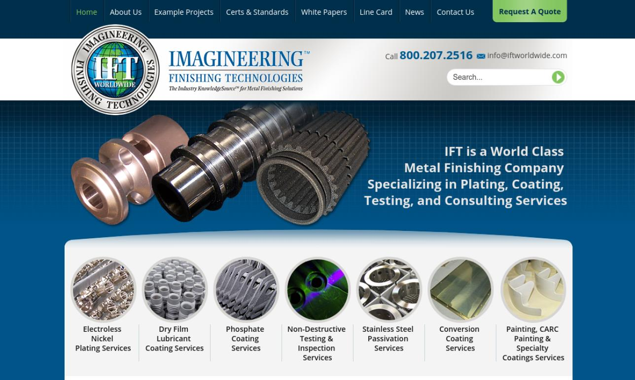 Imagineering Finishing Technologies™ Worldwide