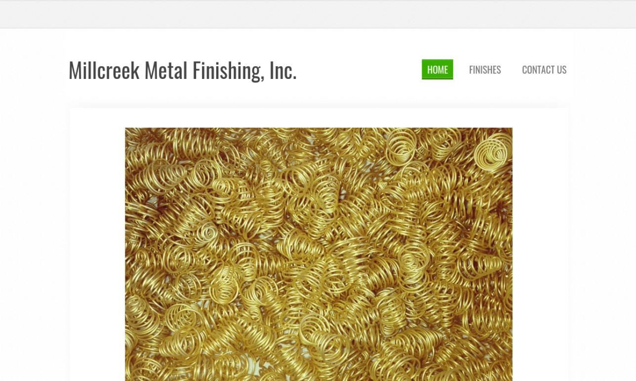 Millcreek Metal Finishing, Inc.