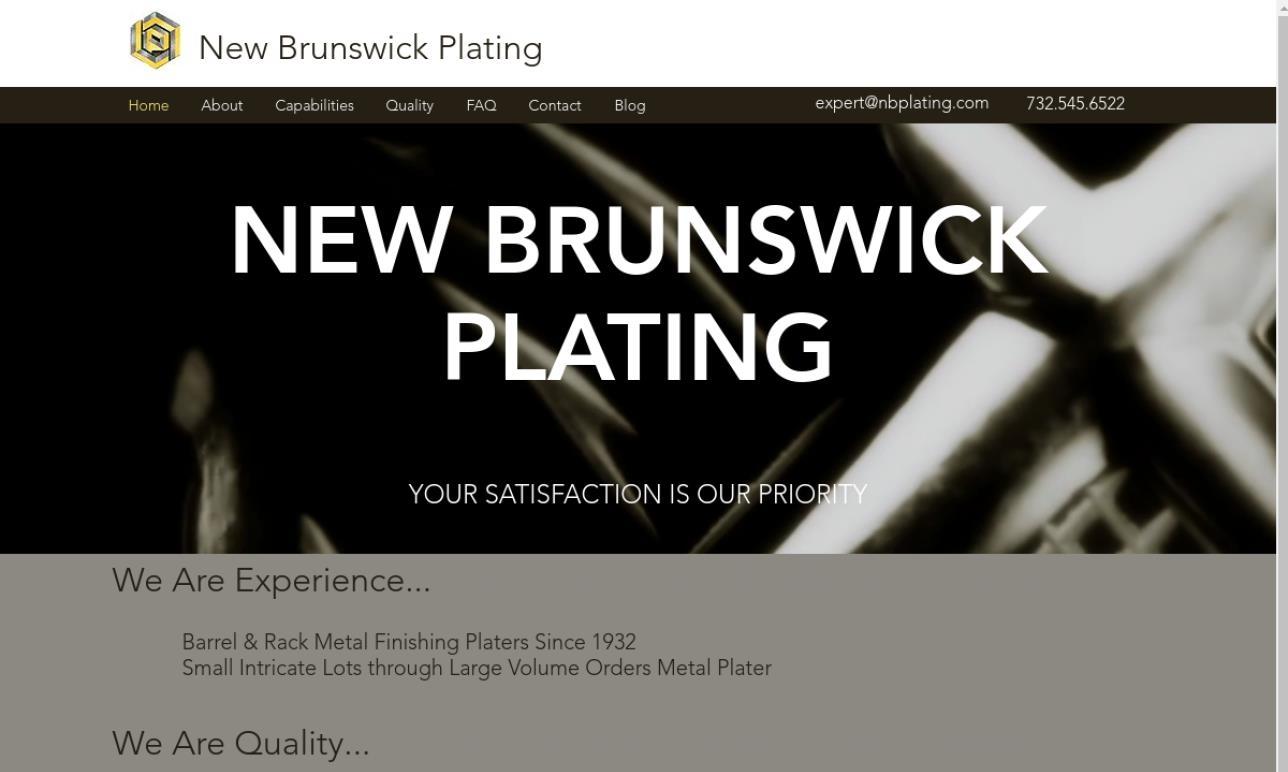 New Brunswick Plating, Inc.