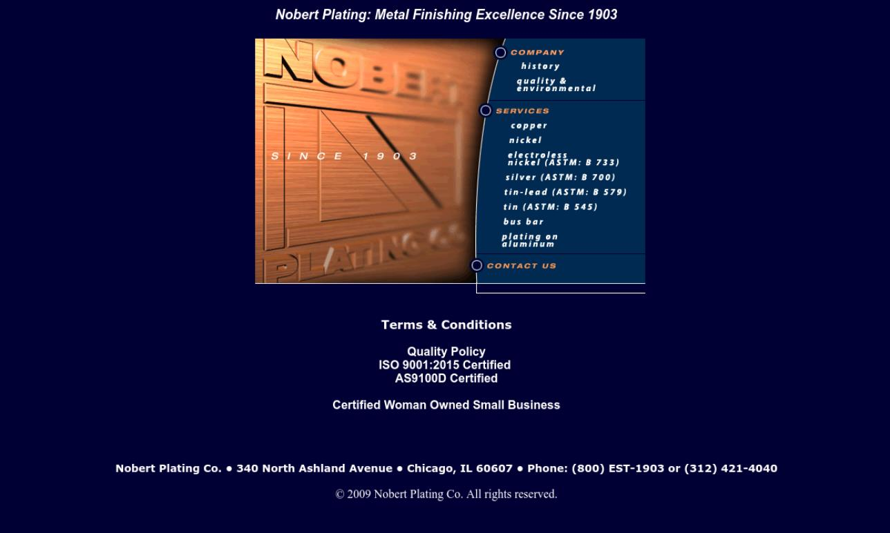 Nobert Plating Company