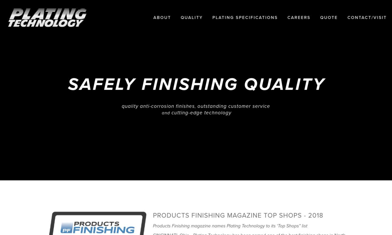 Plating Technology Incorporated