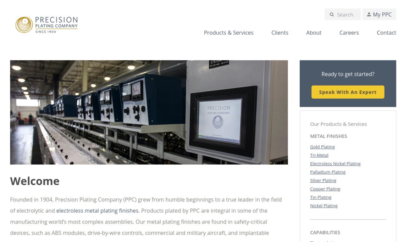 Precision Plating Company