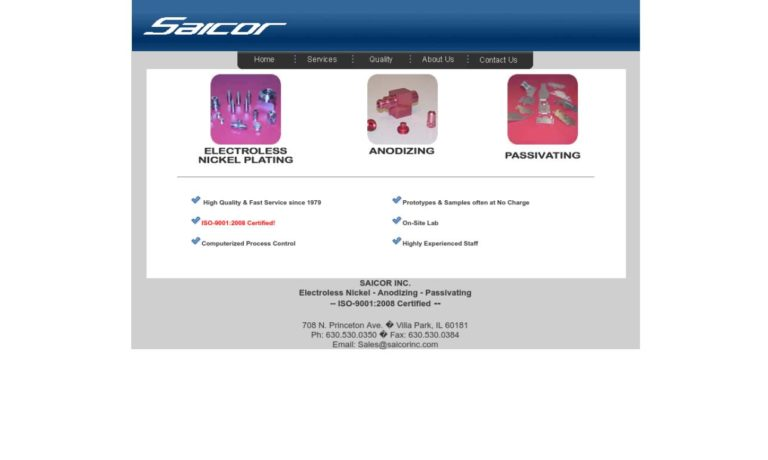Saicor Inc.