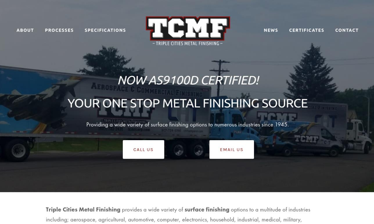 Triple Cities Metal Finishing Co.