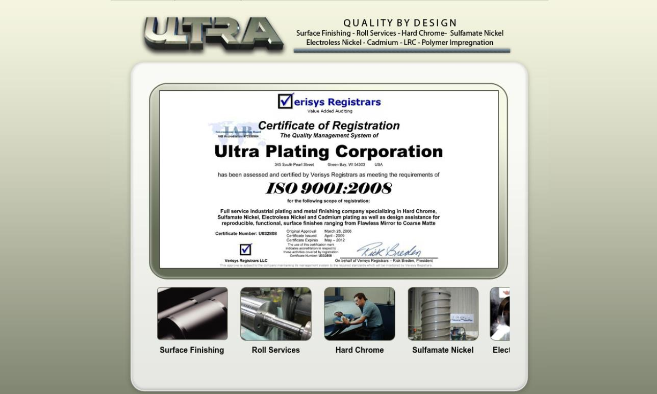 Ultra Plating Corp.