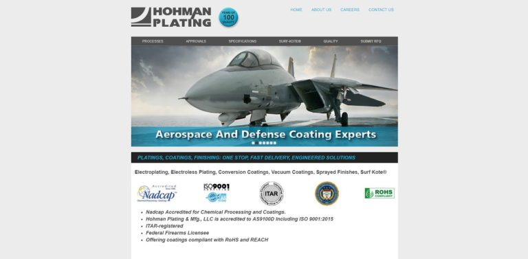Hohman Plating & Manufacturing, Inc.