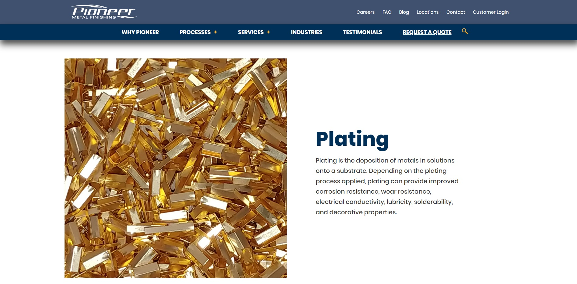 Pioneer Metal Finishing Corporation