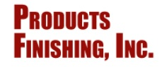 Products Finishing, Inc. Logo