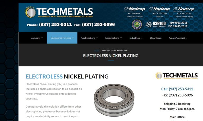 Techmetals, Inc.