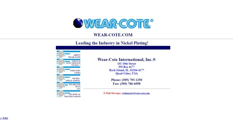 Wear-Cote International, Inc.
