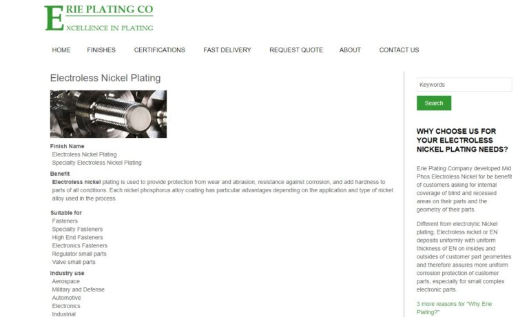 Erie Plating Company
